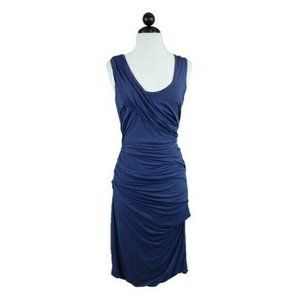 Anthropologie Deletta Draped Ruched Camber Dress
